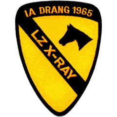 1st CAVALRY DIVISION MILITARY PATCH IA DRANG 1965 LZ X-RAY