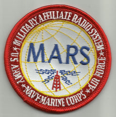 MILITARY AFFILIATE RADIO SYSTEM ARMY NAVY USMC AIR FORCE MARS MILITARY PATCH