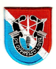 11th Special Forces Group Flash Patch with Crest SFG Military Patch