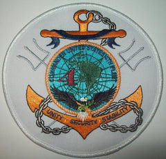 Commander Fourth Fleet Military Patch UNITY SECURITY STABILITY - 4th FLEET