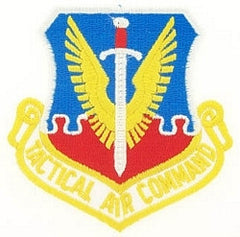 TACTICAL AIR COMMAND AIR FORCE PATCH