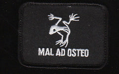 VELCRO Navy SEAL Mal Ad Osteo Frog Military Patch