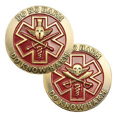 Do No Harm MEDIC Challenge Coin