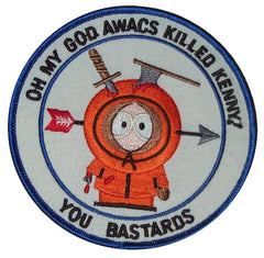 OH MY GOD AWACS KILLED KENNY! - GLOBAL SECURITY AIRCRAFT MILITARY PATCH