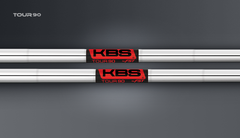 KBS Tour 90 .355 taper tip iron shafts