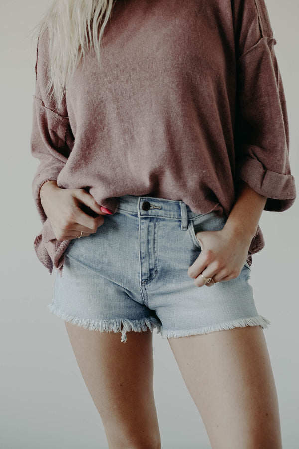 County Fair Denim Shorts (O+P)