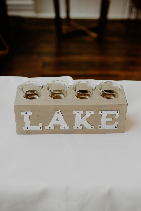 Lake Votive Holder