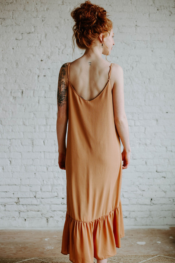 Caramel Latte Dress (O+P)