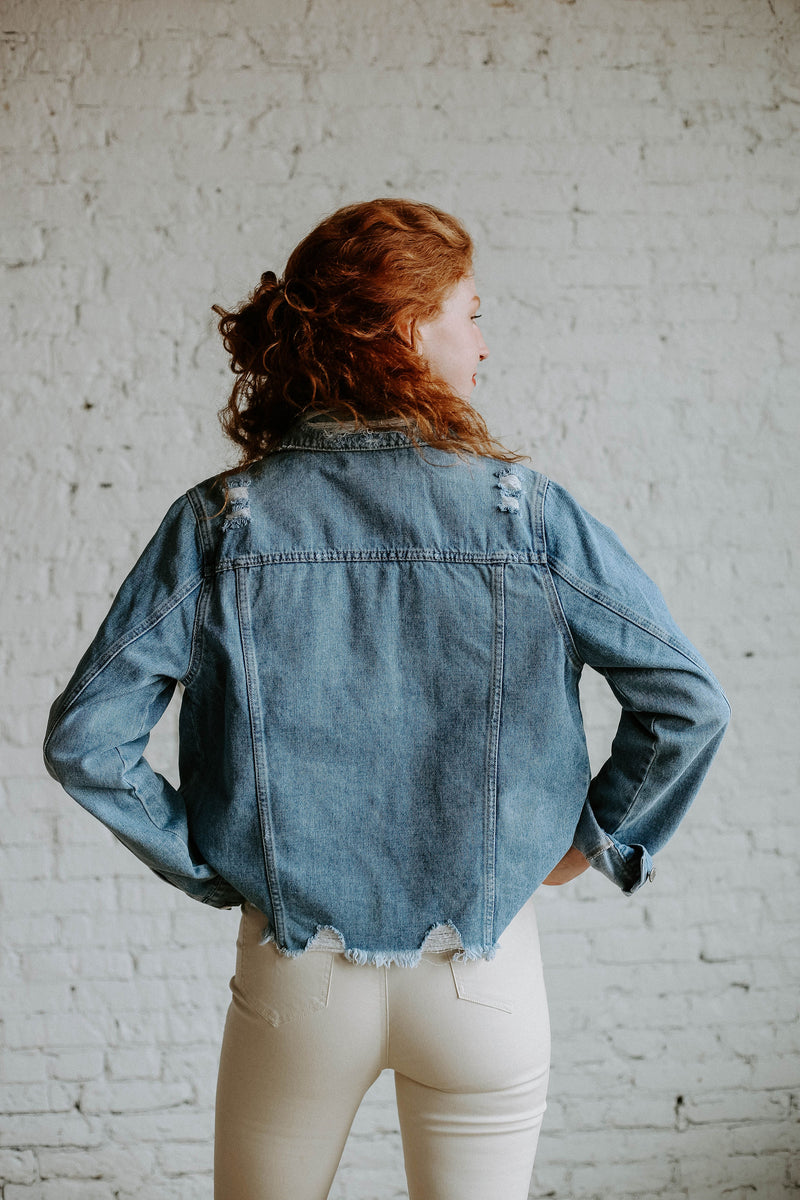 Eddie Denim Jacket (O+P)