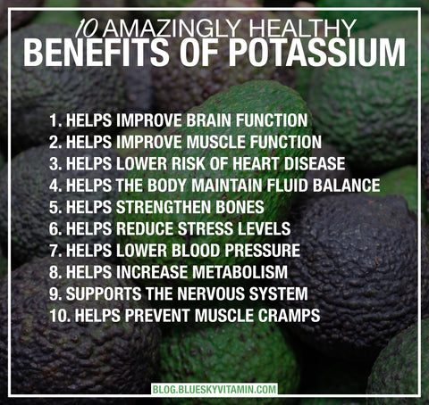 10 Amazingly Healthy Benefits of Potassium