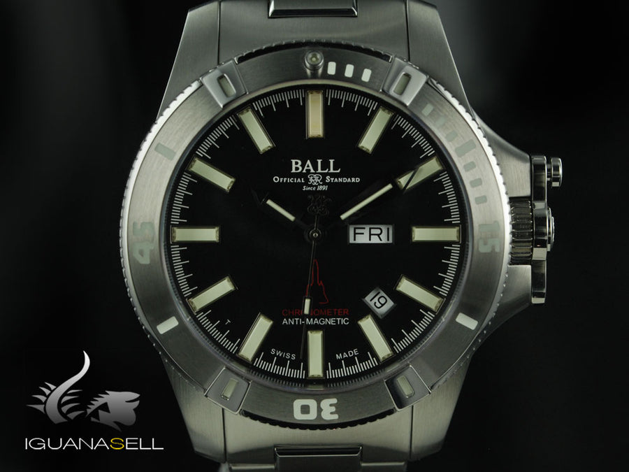 Ball Engineer Hydrocarbon Silver Fox Automatik Uhr, Limitierte Edit, COSC