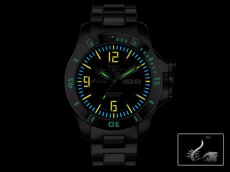 Ball Engineer Hydrocarbon Spacemaster Captain Poindexter Uhr, Lim. Edition, COSC