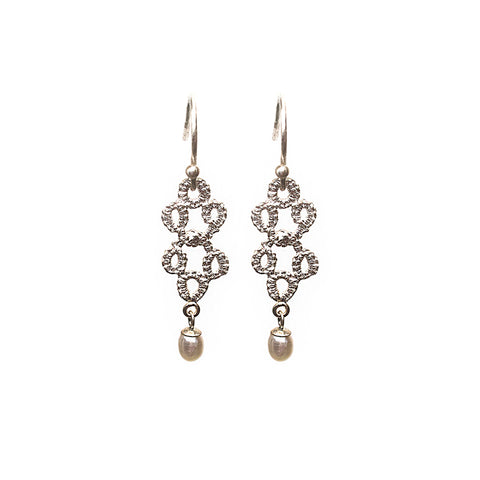 Entwined Pearl Earrings