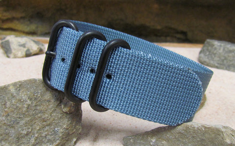 The Baltic Z3™ Ballistic Nylon Strap w/ PVD Hardware (Stitched) 26mm