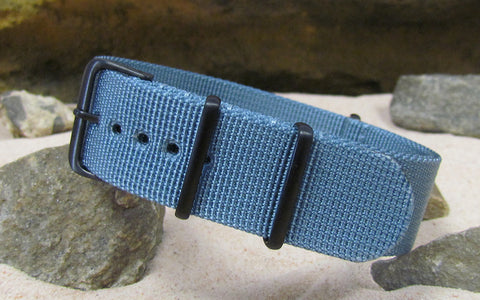 The Baltic XII Ballistic Nylon Strap w/ PVD Hardware (Stitched) 18mm