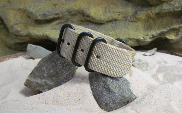 The Desert Dweller Z5™ Ballistic Nylon Strap w/ PVD Hardware (Stitched) 24mm