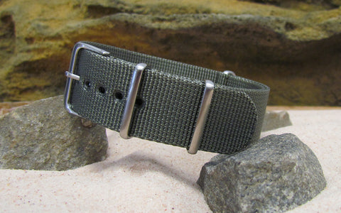 The Destroyer XII Ballistic Nylon Strap w/ Brushed Hardware (Stitched) 18mm