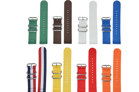 26mm Z3 Two-Piece Ballistic Nylon Strap with Brushed Hardware Bundle