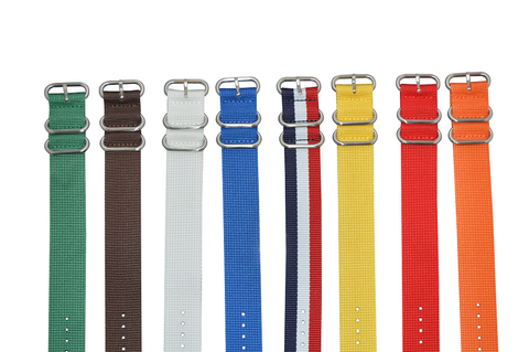 18mm Z3 Ballistic Nylon Strap with Brushed Hardware Bundle