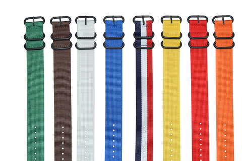 18mm Z3 Ballistic Nylon Strap with PVD Hardware Bundle