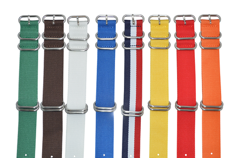 20mm Z5 Ballistic Nylon Strap with Brushed Hardware Bundle
