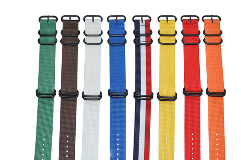 18mm Z5 Ballistic Nylon Strap with PVD Hardware Bundle