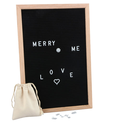Bar & Home Letter Board 12*18 Inch with 340 Pcs