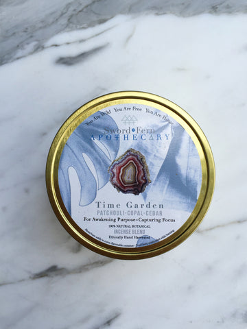 S+F Wildcrafted Incense-Time Garden