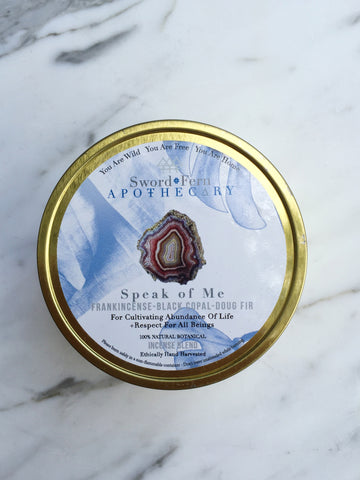 S+F Wildcrafted Incense-Speak of Me