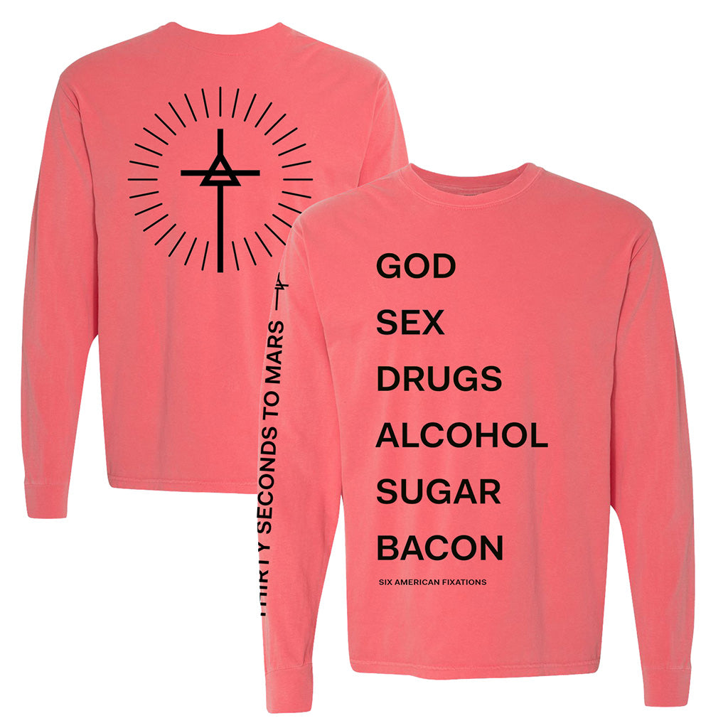 God Sex Drugs New Long Sleeve