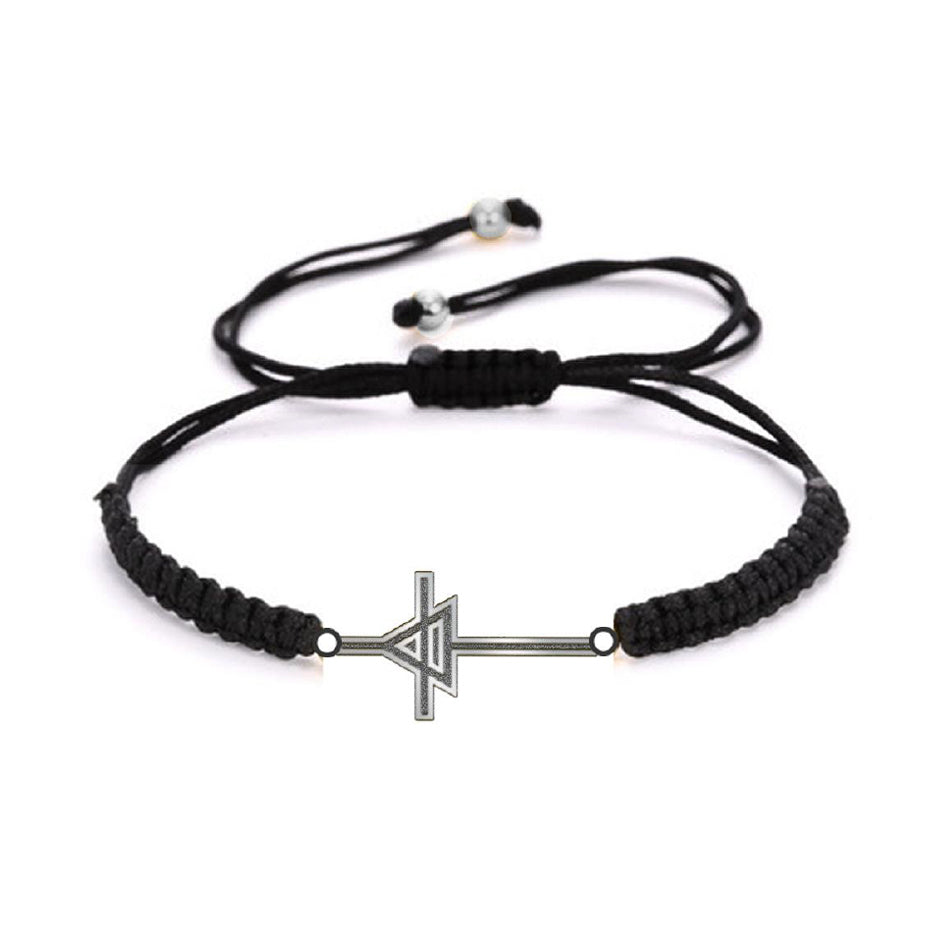 Triad Black Cord Bracelet