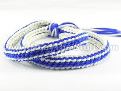 KOMBAT GEAR MuayThai Prajioud (Arm Bands) Blue and White