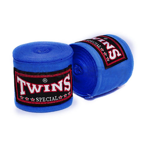 Twins Special Hand wraps Blue Elastic Cotton CH5