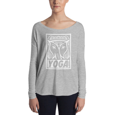 Yoga Stamp Flowy Long Sleeve