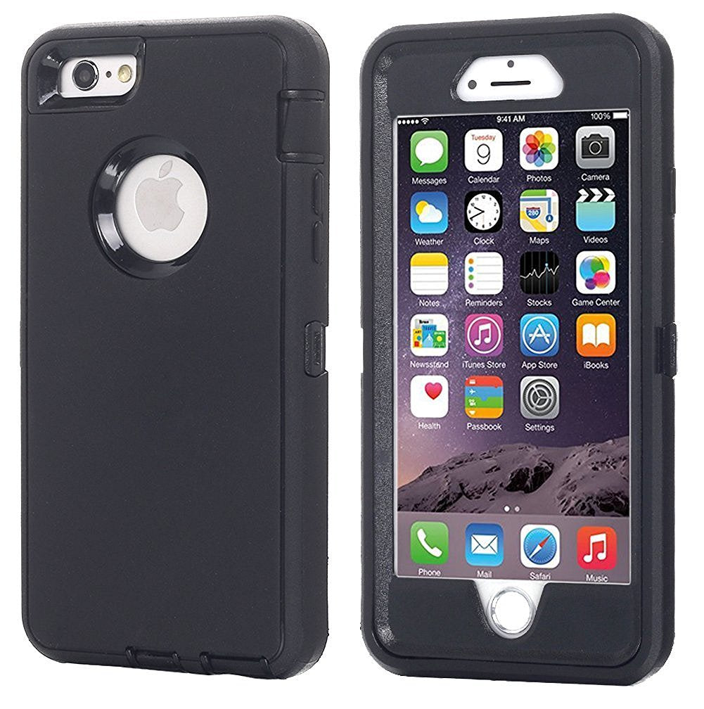 AICase Heavy Duty Tough 3 in 1 Rugged Shockproof Case for iPhone 5/6/6+/7/7+/8/8+