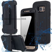Load image into Gallery viewer, Armor Commute Series Hard Case with Belt Clip Holster for Samsung Galaxy S7 and S7 Edge
