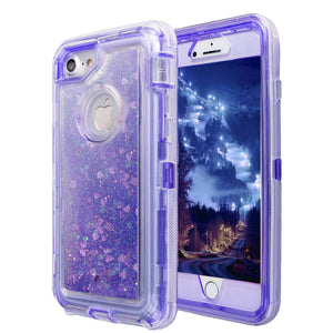 Glitter Sparkle Quicksand 3D Star Liquid Floating Bling Case