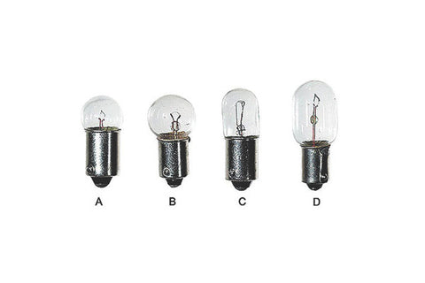 Single Contact Miniature Bayonet Base Bulbs