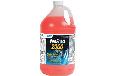 BanFrost 2000 - Marine Engine Anti-Freeze/Coolant (1 Gallon)