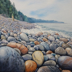 Superior Gems, watercolour by Karen Richardson