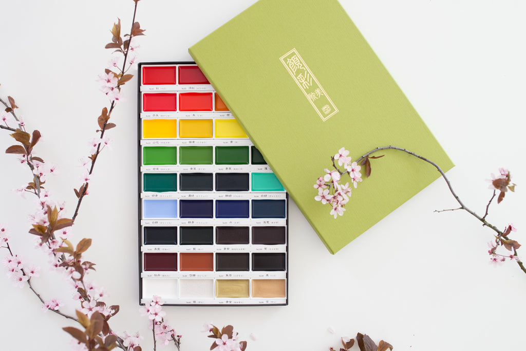 Gansai Tambi Watercolor set 36