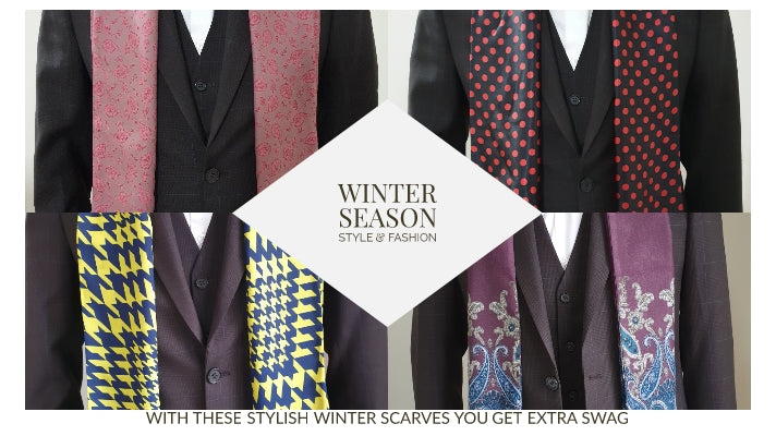With these stylish winter scarf you get extra swag