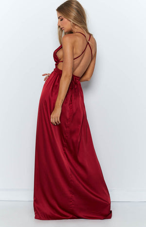 Estelle Maxi Dress Wine