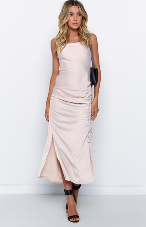 Theresa Dress Blush