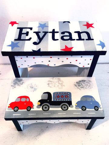 Cars 'n trucks Step Stool