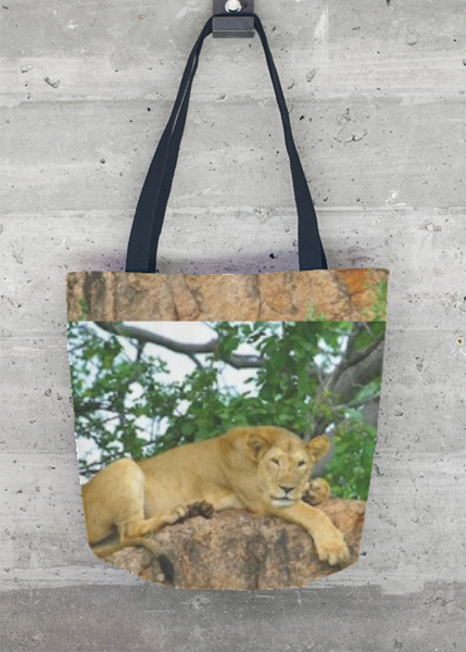 Janet Deleuse Designer Photograph Tote Bag, SOLD