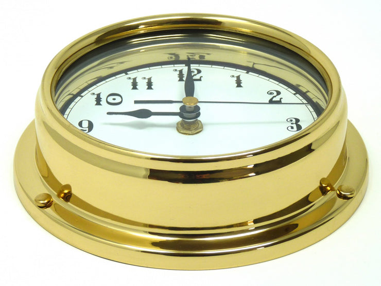 Handmade Solid Brass Arabic Clock