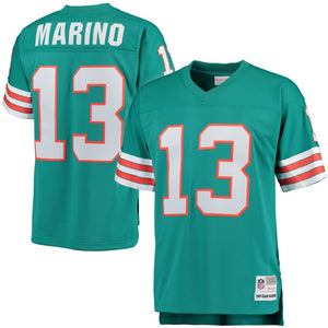 Dan Marino Miami Dolphins Mitchell & Ness Retired Player Vintage Replica Jersey - Aqua