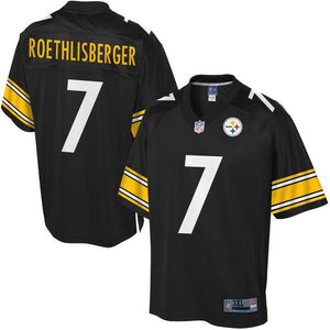 NFL Pro Line Mens Pittsburgh Steelers Ben Roethlisberger Big & Tall Team Color Jersey