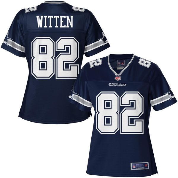 NFL Pro Line Women's Dallas Cowboys Jason Witten Team Color Jersey